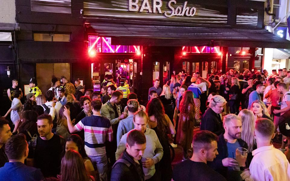 From Aberdeen to Seoul, coronavirus outbreaks linked to pubs, bars and nightclubs have become commonplace - VICKIE FLORES/EPA-EFE/Shutterstock/Shutterstock