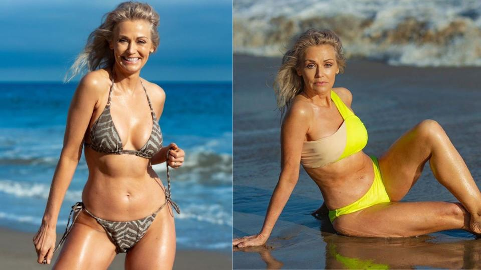 Kathy Jacobs for SI Swimsuit. Images via SI Swimsuit