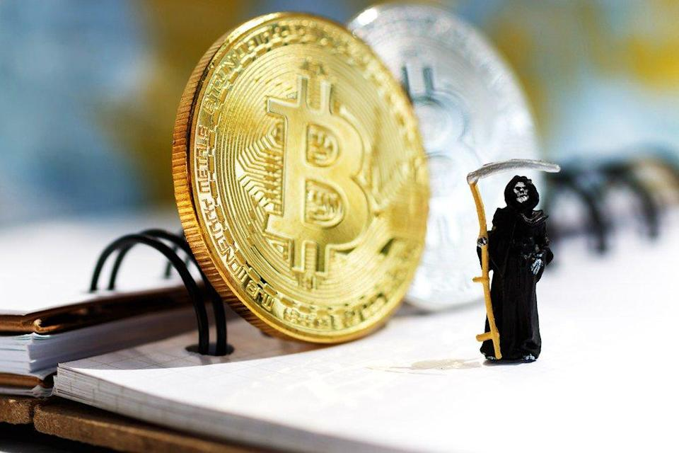 Gaining a crypto inheritance could mean you're up for a tax bill. | Source: Shutterstock