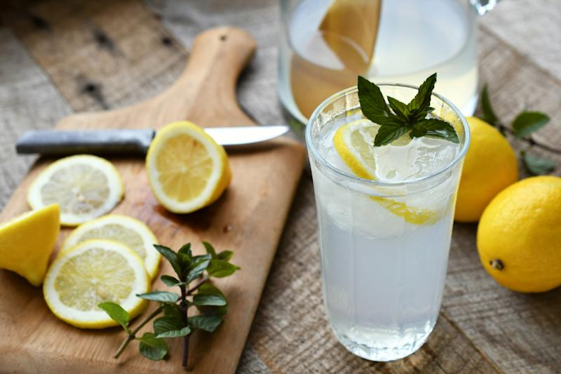 It turns out, vegans shouldn't add a lemon to their drink [Photo: Getty]