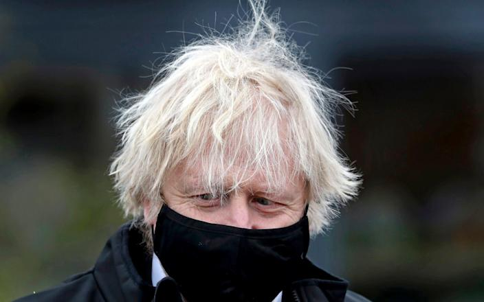 Boris Johnson admitted that it was