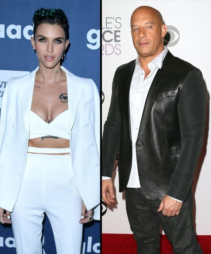 Ruby Rose says Vin Diesel inspired her to train hard for film xXx: The Return Of Xander Cage. Source: Getty