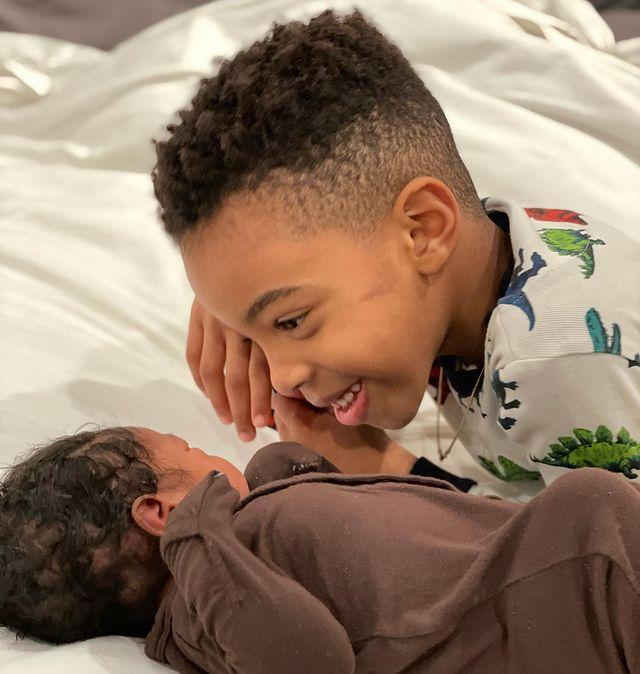 """<p>Kelly Rowland has shared the happy news of the arrival of her second son. </p><p>The singer took to Instagram to share the first photo of her newborn Noah on yesterday (January 31). In the sweet snap, the singer's 6-year-old son, Titan Jewell, can be seen smiling at his new baby brother. </p><p>The mother of two captioned the photo announcing the tiny yet oh so timely arrival, 'On the 21st day, of the 21st year, of the 21st Century, Noah Jon WeatherspoonGreeted us! We are truly grateful,' before adding a series of heart emojis. </p><p><a href=""""https://www.instagram.com/p/CKrGUMHFzlH/"""" rel=""""nofollow noopener"""" target=""""_blank"""" data-ylk=""""slk:See the original post on Instagram"""" class=""""link rapid-noclick-resp"""">See the original post on Instagram</a></p>"""