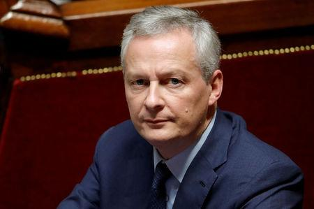 FILE PHOTO: French Finance Minister Bruno Le Maire attends a session of the National Assembly in Paris