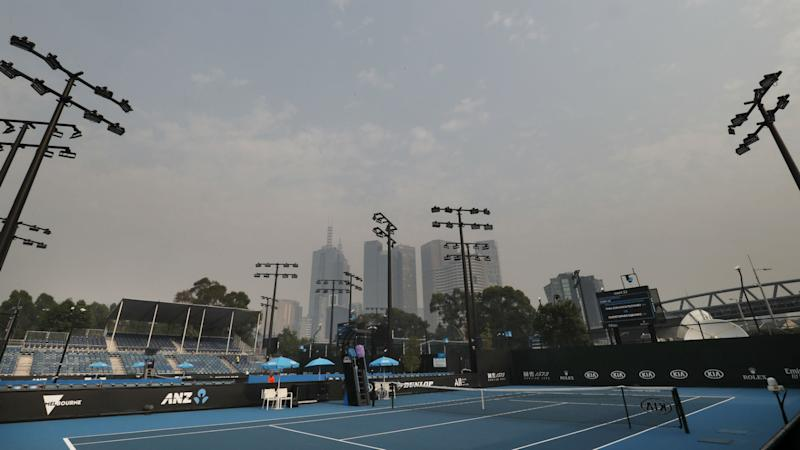 Australian Open qualifying delayed due to 'very poor' air quality amid bushfires