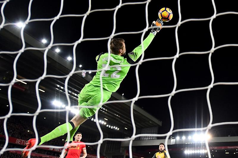 Mignolet was in fine form after a troubled season: Getty Images