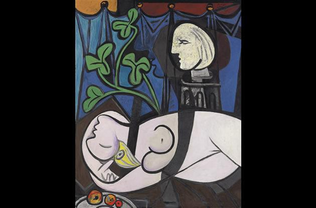 """Nude Green Leaves, and Bust"" by Pablo Picasso, $106.5 million."