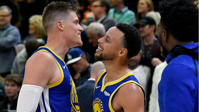 A late tip-in for the win against the Utah Jazz cemented Jonas Jerebko's place among his Golden State Warriors team-mates.
