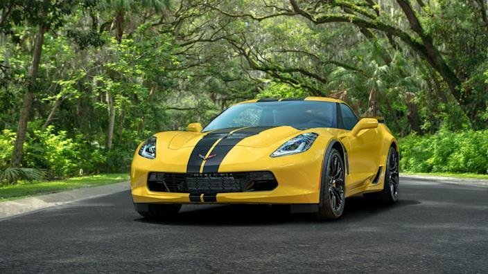Hertz 100th Anniversary Edition Corvette Z06.