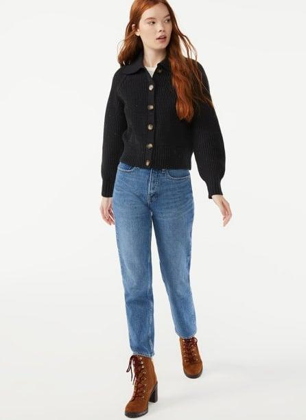 <p>The <span>Free Assembly Women's Collared Cardigan</span> ($28) is bound to become a year-round staple in your closet.</p>