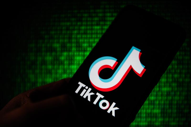 Tik Tok logo seen displayed on a smartphone. (Omar Marques/SOPA Images/Sipa USA/PA Images)