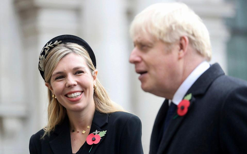 Carrie Symonds - Chris Jackson/Getty Images