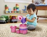 """<p><strong>Green Toys</strong></p><p>amazon.com</p><p><strong>$14.99</strong></p><p><a href=""""https://www.amazon.com/dp/B085JJT25G?tag=syn-yahoo-20&ascsubtag=%5Bartid%7C10050.g.34122456%5Bsrc%7Cyahoo-us"""" rel=""""nofollow noopener"""" target=""""_blank"""" data-ylk=""""slk:Shop Now"""" class=""""link rapid-noclick-resp"""">Shop Now</a></p><p>You'll love to see baby practice important motor skills, color identification and problem solving, while they'll get a kick out of the Minnie Mouse topper and base. Made in the U.S.A. from recycled plastic.</p>"""