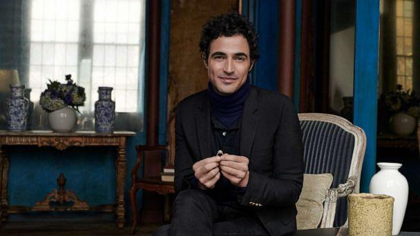 PHOTO: Zac Posen launched a gender-less wedding collection with Blue Nile.  (Blue Nile)