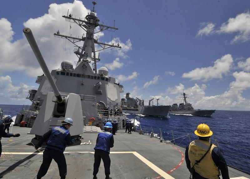 Arleigh Burke class guided missile destroyer
