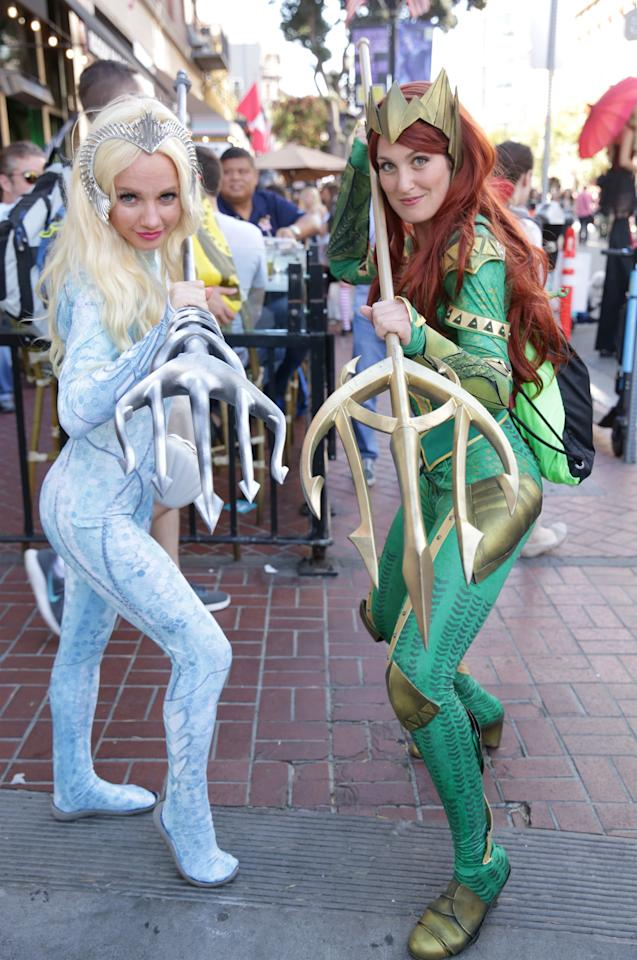 Atlanna and Mera From Aquaman