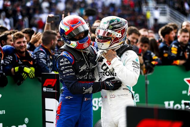 Hamilton summoned to stewards after late Albon clash