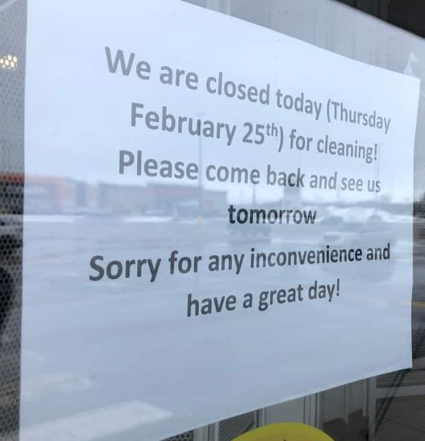 Toys R Us in Charlottetown is closed for deep cleaning until Friday, after being exposed to COVID-19 on Tuesday morning. (Steve Bruce/CBC - image credit)