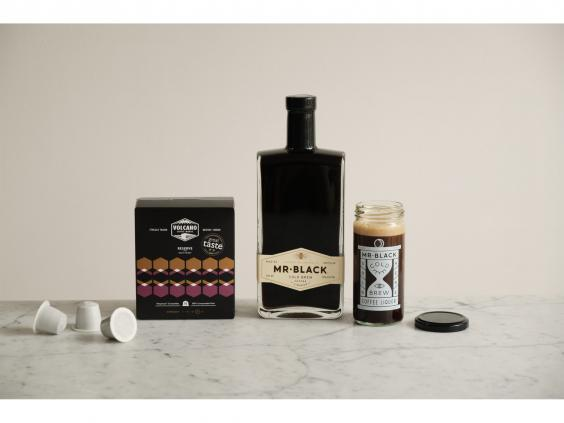 For espresso martini fans, pick up this cocktail making kit to make your own at home (Mr Black)
