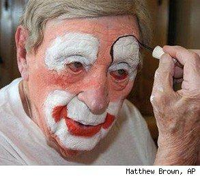 world's oldest clown