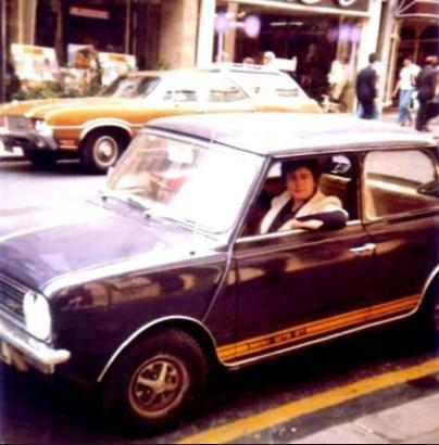 What Happened To Marc Bolans Mini Clubman