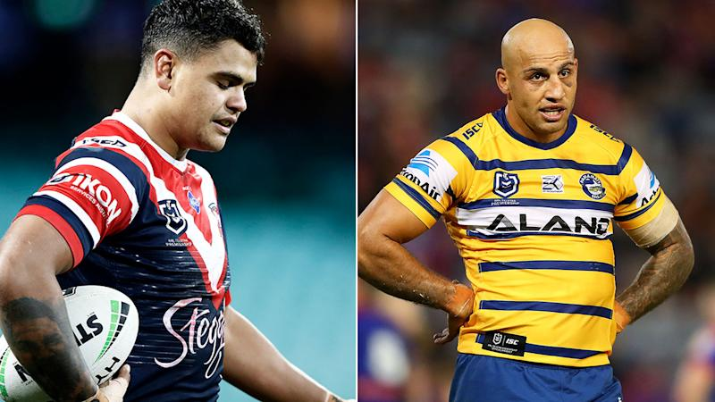 Latrell Mitchell and Blake Ferguson have been racially abused this season.