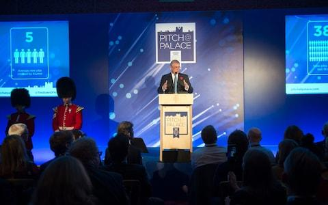 The Duke of York hosting Pitch@Palace awards in 2015 - Credit: David Rose