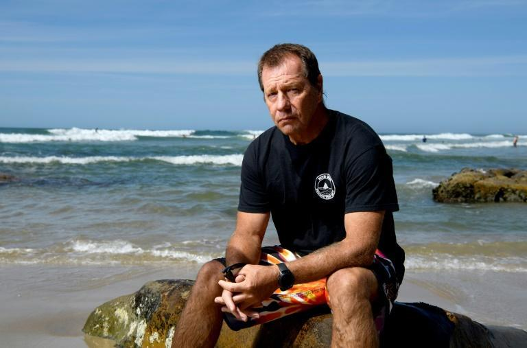 Dave Pearson realised the power of talking to others who shared his ordeal after he almost died when a bull shark tore into his arm