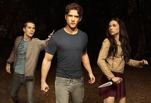 Dylan O'Brien, Tyler Posey and Crystal Reed | Photo Credits: MTV