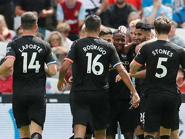 Premier League: Raheem Sterling's hat-trick helps Manchester City begin title defence in style with dominant win over West Ham United