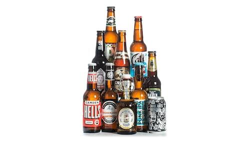 10 different craft beers and ales