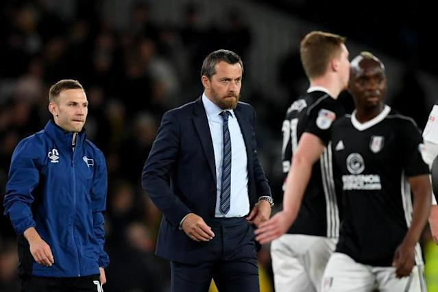 Slavisa Jokanovic upbeat despite loss as Fulham 'dominated' Derby in Championship play-off first leg