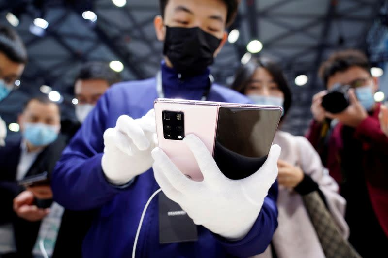 FILE PHOTO: Mobile World Congress (MWC) in Shanghai