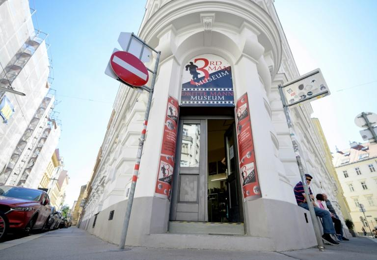 "A dedicated museum to ""The Third Man"" in Vienna attracts fans of the film, described as the greatest British movie of all time"