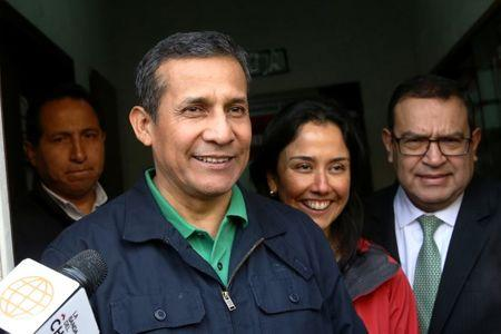 Ex-Peru Leader, Wife Surrender for Detention