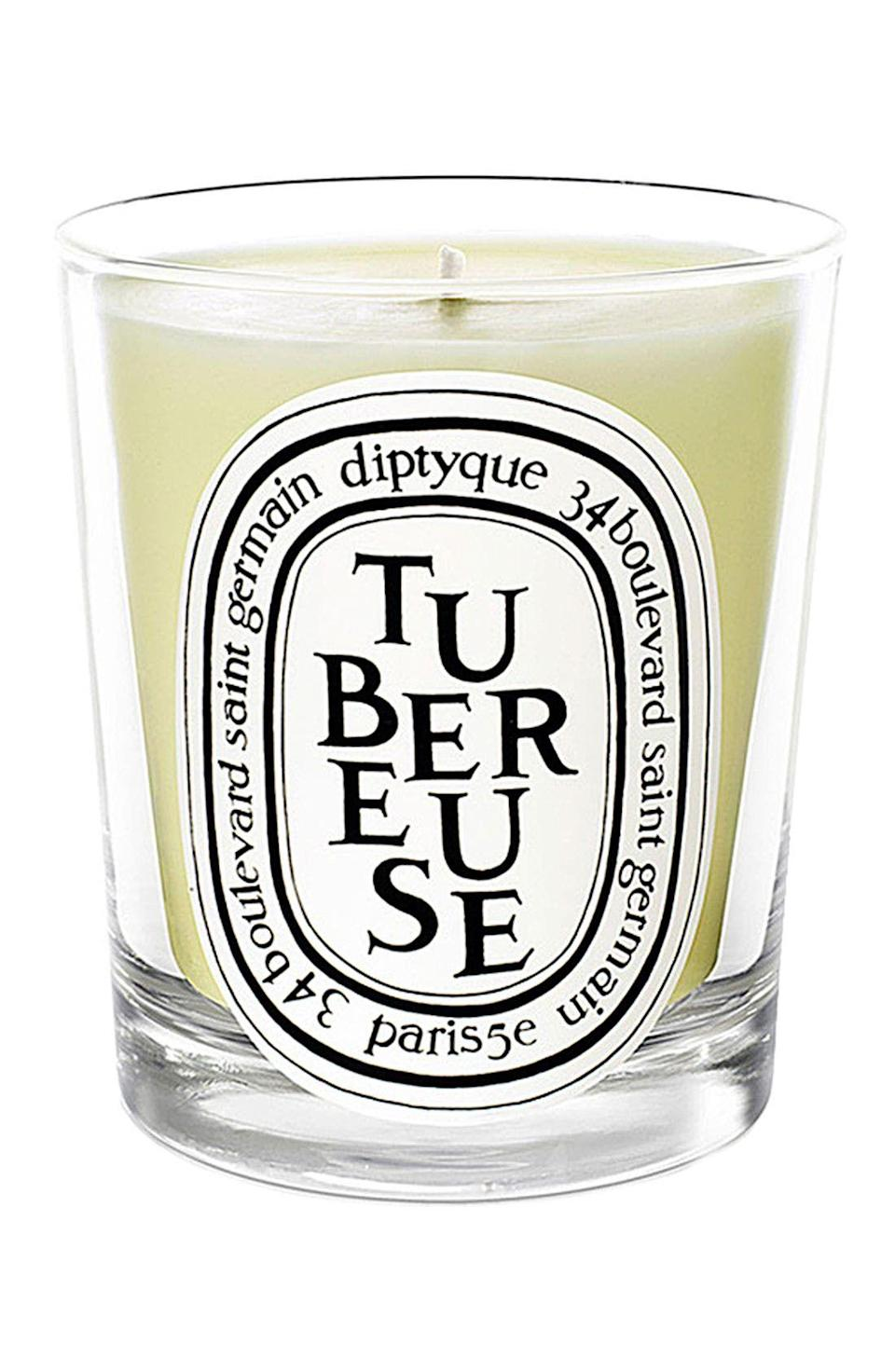 "<p><strong>Diptyque</strong></p><p>nordstrom.com</p><p><strong>$38.00</strong></p><p><a href=""https://go.redirectingat.com?id=74968X1596630&url=https%3A%2F%2Fwww.nordstrom.com%2Fs%2Fdiptyque-tubereuse-tuberose-candle%2F3228170&sref=https%3A%2F%2Fwww.oprahdaily.com%2Flife%2Fg36055948%2Fsummer-candles%2F"" rel=""nofollow noopener"" target=""_blank"" data-ylk=""slk:SHOP NOW"" class=""link rapid-noclick-resp"">SHOP NOW</a></p><p>Diptyque is know for its luxe candles and sophisticated fragrances, like the exotic notes of the night-blooming tuberose plant. <em>C'est chic, non?</em> </p>"