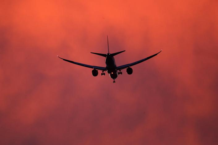 <p>UK's climate advisers have said there should be no new net airport expansion if the country is to meet its target of reaching net-zero emissions by 2050</p> (Getty Images)