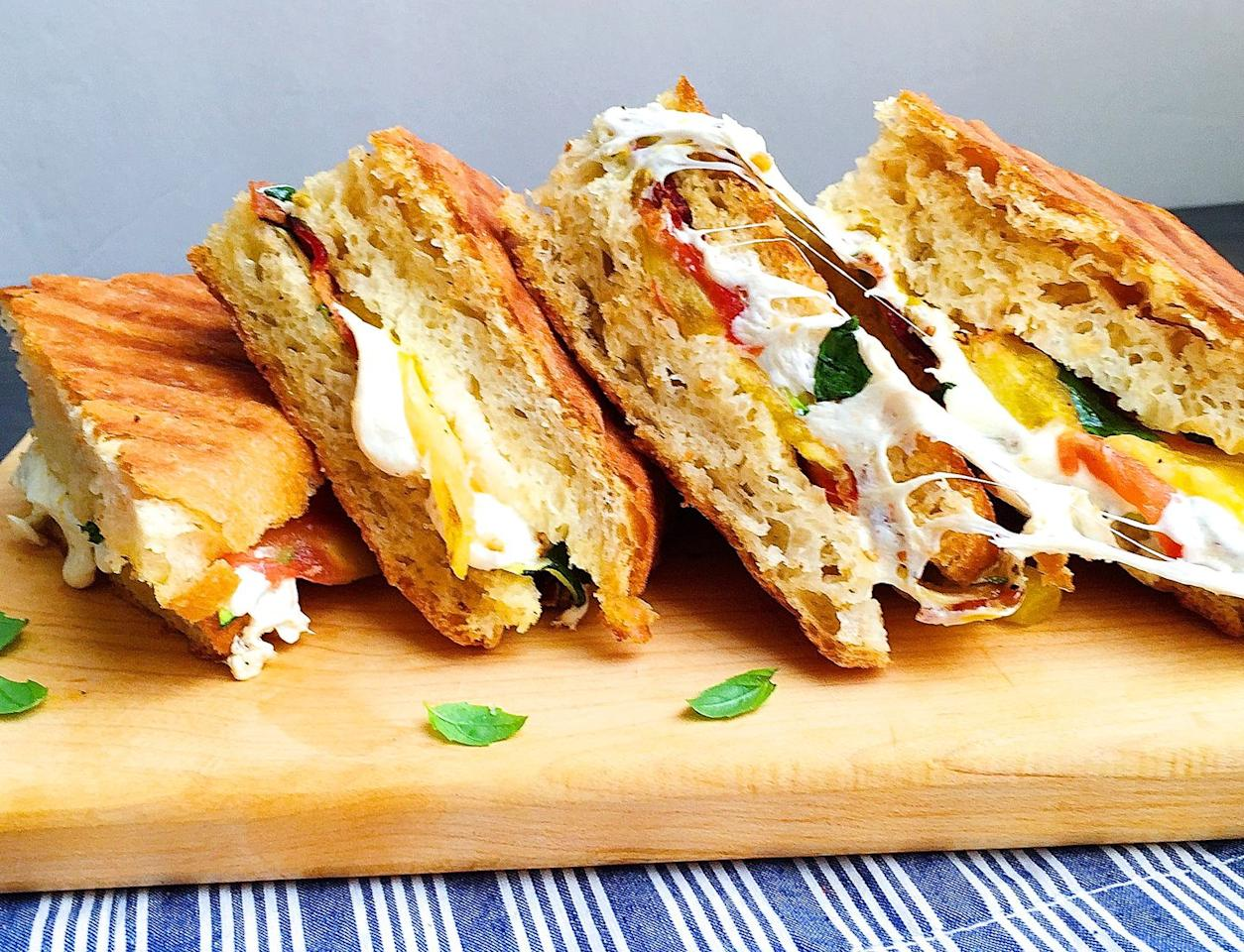 """<p>BZT is the new BLT.</p><p>Get the recipe from <a rel=""""nofollow"""" href=""""https://www.delish.com/cooking/recipe-ideas/recipes/a43496/bzt-panini-recipe/"""">Delish</a>.<br></p><p><a rel=""""nofollow"""" href=""""http://www.countryliving.com/food-drinks/recipes/a24613/grilled-vegetable-sandwiches-recipe-rbk1010/""""></a></p>"""