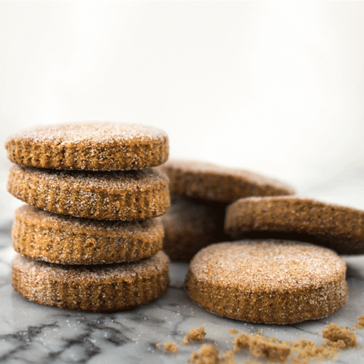 """<p>The traditional pumpkin spice cookie gets a vegan makeover that's light, fluffy, and irresistible. A cookie perfect for the holiday season that will please the pickiest of eaters! <a href=""""https://www.yahoo.com/food/crowd-pleasing-vegan-pumpkin-spice-holiday-cookies-134640786.html"""" data-ylk=""""slk:Get the Vegan Pumpkin Spice Christmas Cookies;outcm:mb_qualified_link;_E:mb_qualified_link;ct:story;"""" class=""""link rapid-noclick-resp yahoo-link""""><b>Get the Vegan Pumpkin Spice Christmas Cookies</b></a>. <i>(Adrian and Jeremy of The Food Gays)</i></p>"""