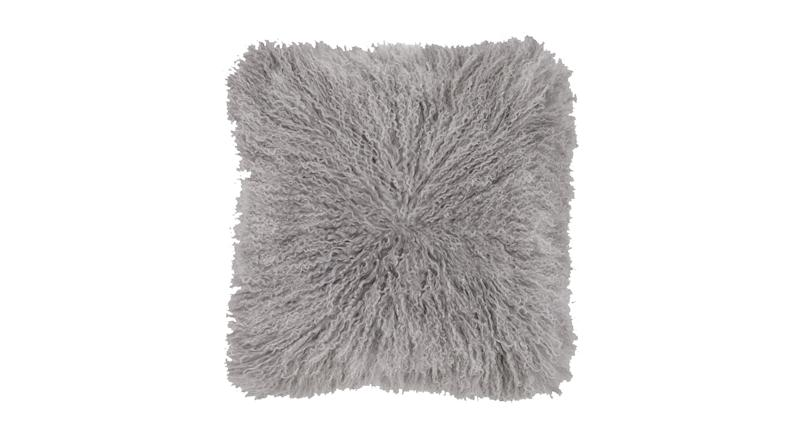 Haddie Mongolian Fur Cushion