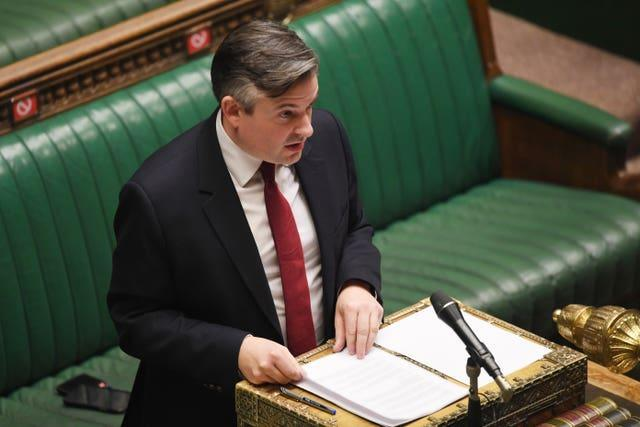 Shadow health secretary Jonathan Ashworth