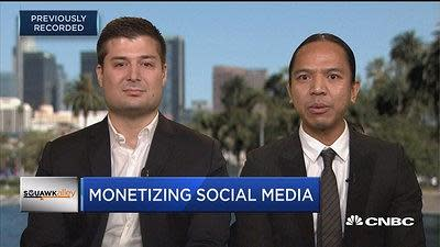 Revolve co-CEOs Mike Karanikolas and Michael Mente explain how they're partnering with social media influencers to drive sales for their online fashion business.
