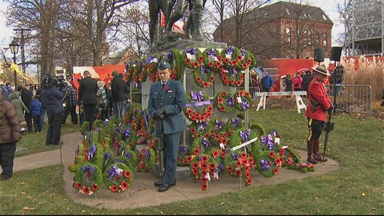'Ultimate sacrifice': Veterans honoured at P.E.I. Remembrance Day ceremony