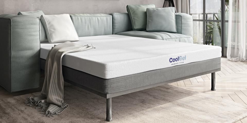 Upgrade your sofa bed today. (Photo: Walmart)