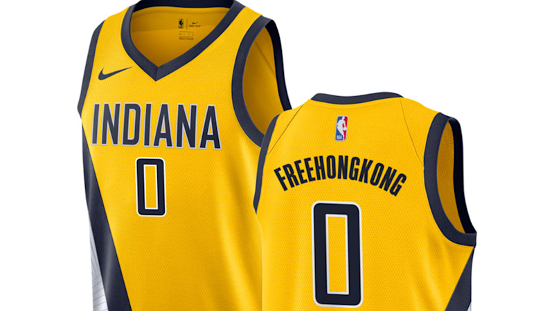 NBA store says 'Free Hong Kong' was 'inadvertently prohibited' from jerseys