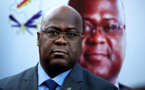 Felix Tshisekedi, leader of Congolese main opposition party, the UDPS, - Credit: BAZ RATNER