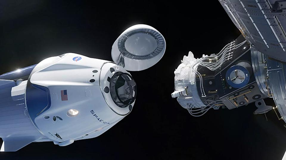 SpaceX-Demo2-arrival-ISS-NASA
