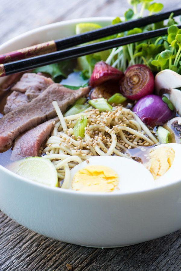 """<strong>Get the <a href=""""https://theviewfromgreatisland.com/slow-cooker-pho-recipe/"""" target=""""_blank"""">Easy Slow Cooker Pho recipe</a>fromThe View From Great Island</strong>"""