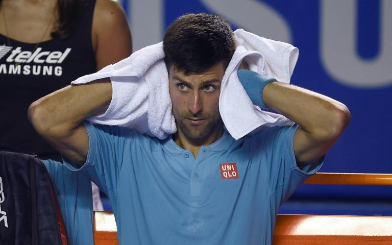 Serbia's Novak Djokovic crashed out of the quarter-finals of the Mexico Open at the hands of Australia's Nick Kyrgios
