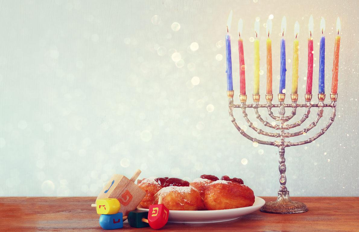 , the dates of Hanukkah change every year with the Hebrew calendar ...